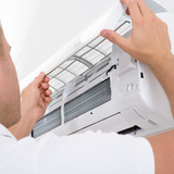 エアコンの部位別掃除方法!フィルター・フィン・ファン掃除で使う洗剤は?
