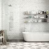 浴室タイルの掃除方法5つ。お風呂の床や壁の黒ずみが落ちる!