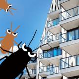 マンションのゴキブリ対策7つと出にくい所の見分け方!出ないのは何階以上?