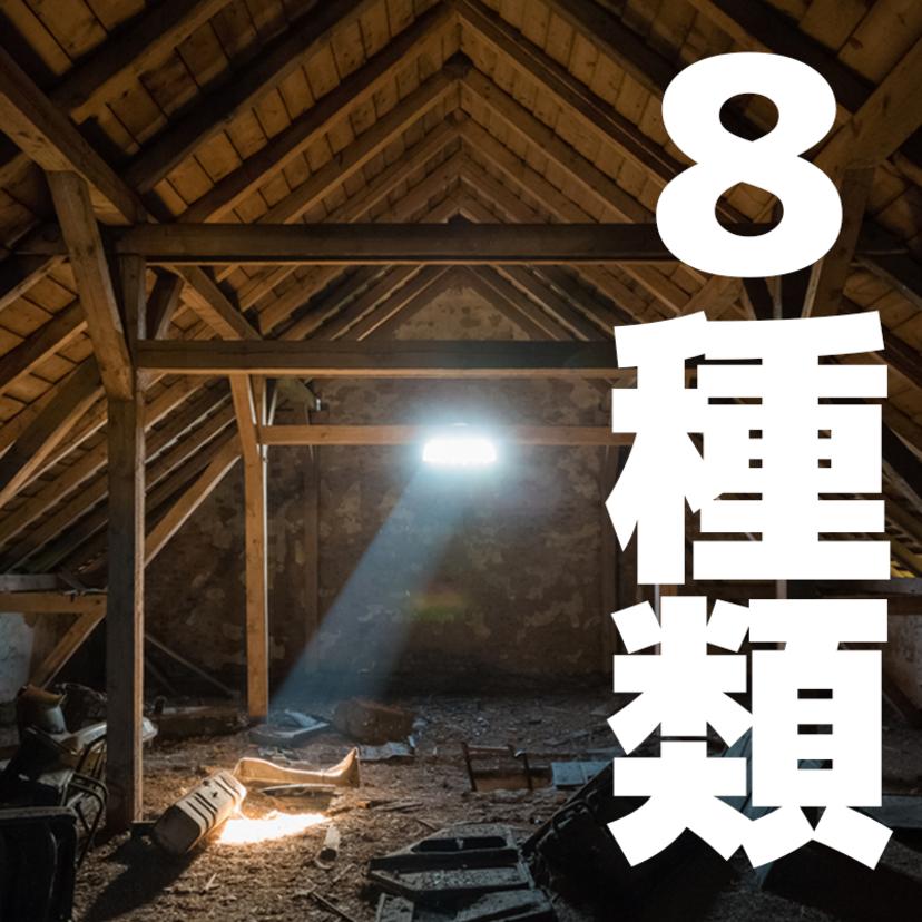 屋根裏にいる動物8種類と追い出す撃退対策3つ!どこから入った?