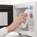 電子レンジの掃除方法6個!洗剤・におい・焦げ・頻度は?