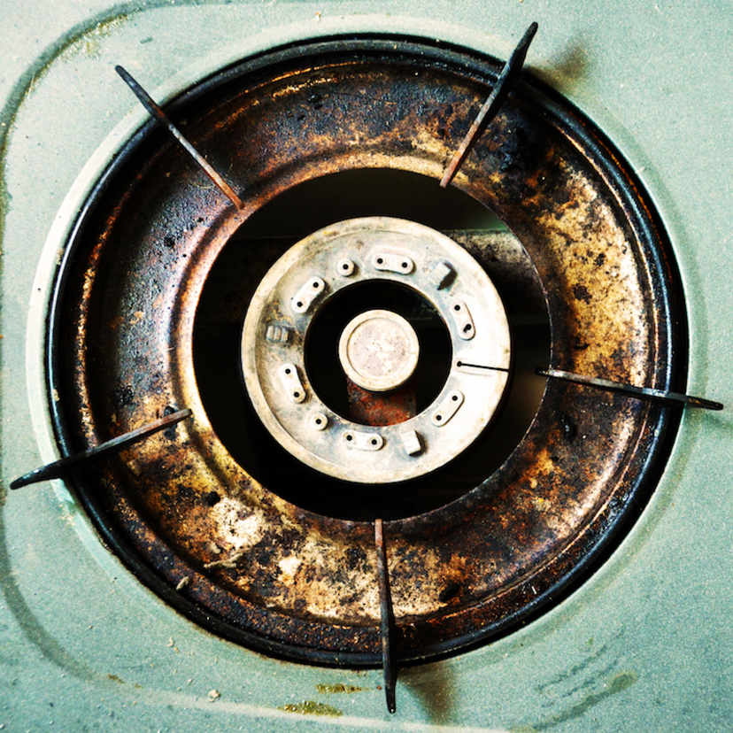 オキシクリーンの五徳・ガスコンロの掃除方法!油汚れや焦げ付きは?