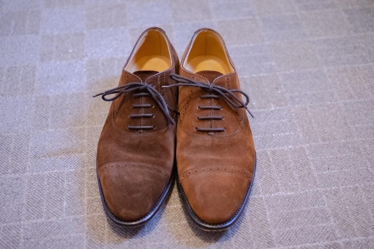 スウェード 靴 洗い 方